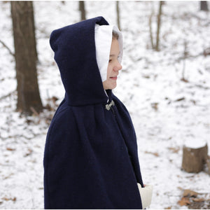 Girls' Hooded Cape SH-247