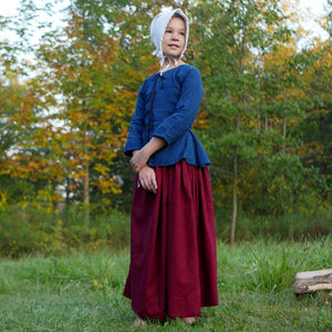 Girls' Plain Drawstring Skirt    PC-244