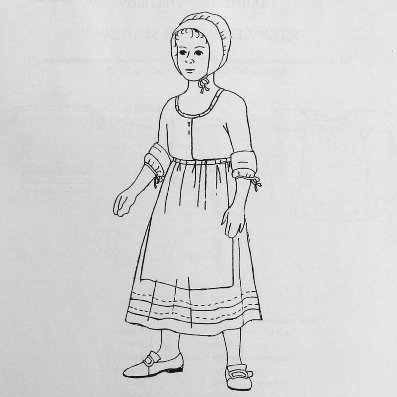 Girl's Pattern Mid 18th Century