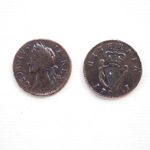 1751 Irish Halfpenny   CO-527