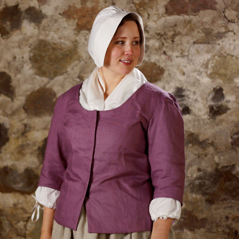 Ladies' Fitted Bodice - Solid Linen