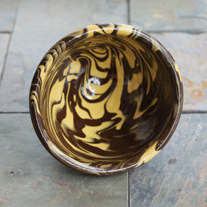 Marbled Redware Bowl