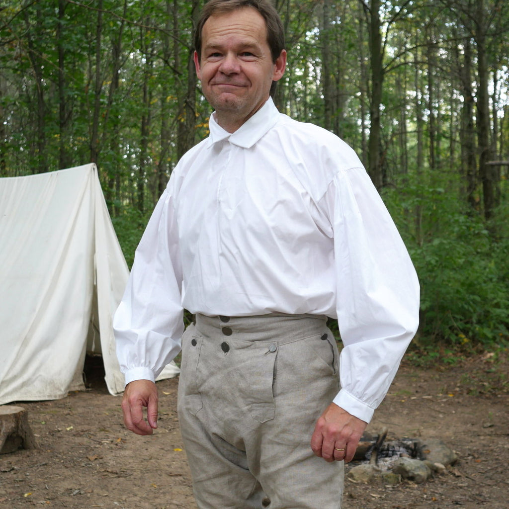 18th Century Workshirt - Cotton   SH-124