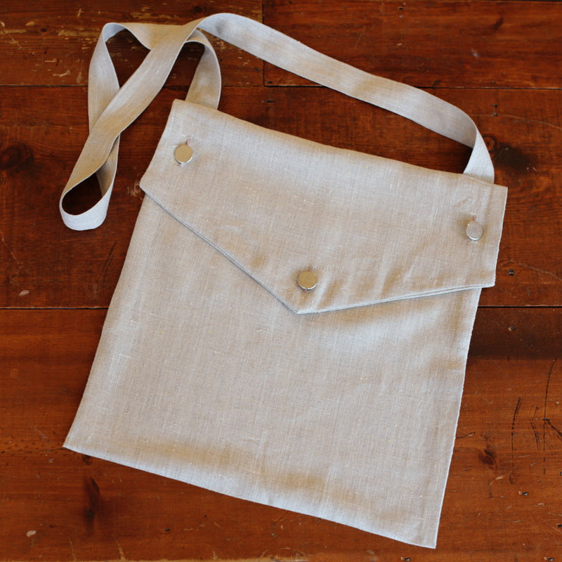 Natural Linen Haversack   HS-713