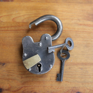 Sturdy Iron Padlocks  Medium