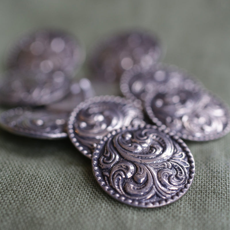 Large Paisley Button Pkg of 10