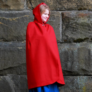 Girls' Hooded Cape