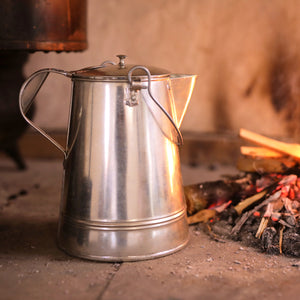 Handmade Tin Coffee Pot