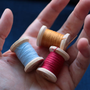 Colored Linen Thread