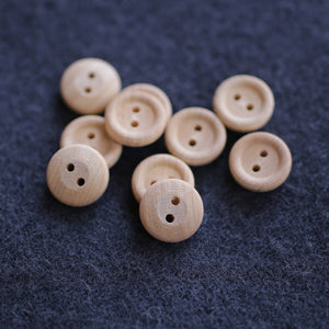 Wooden Buttons Pkg of 10  WB-41T