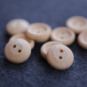 Wooden Buttons Pkg of 10