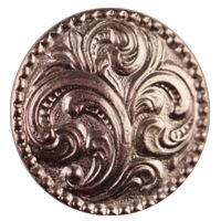Large Paisley Button Pkg/10 B-1165