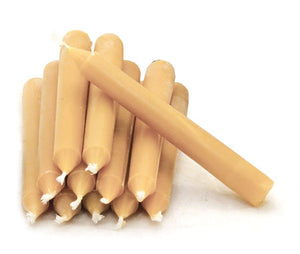 Beeswax Candles 12 Pack