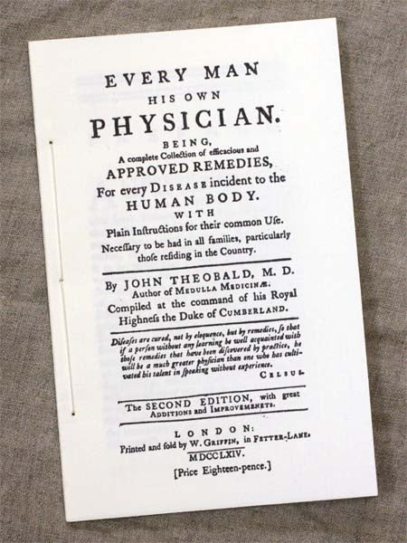 Book: Every Man His Own Physician