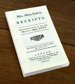 Mrs. Eales's (Confectionary) Receipts BK-708