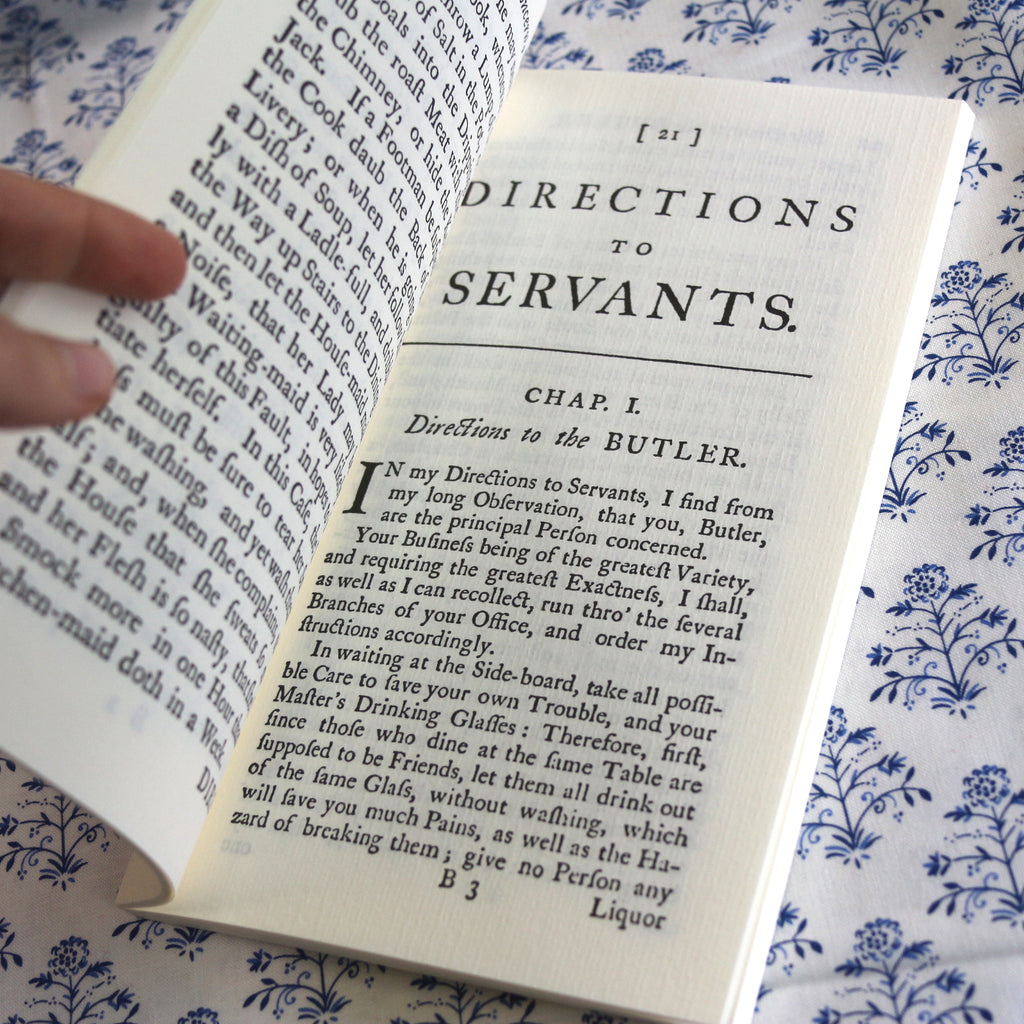Book: Directions to Servants