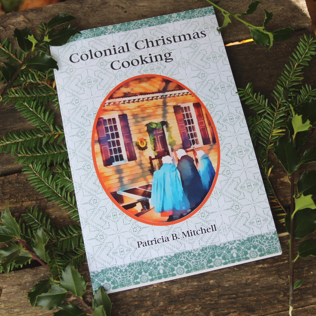 Colonial Christmas Cooking Book