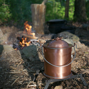 Copper Boiler by Campfire