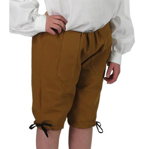 Boys' Costume Breeches - Nutmeg Canvas CCP-28