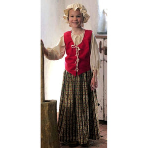 Girls Complete Bodice Costume