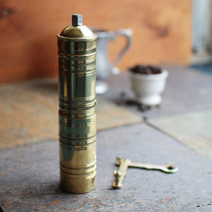 Brass Coffee Grinder   GR-236