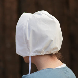 Ladies' Colonial Cap - White Cotton CP-911