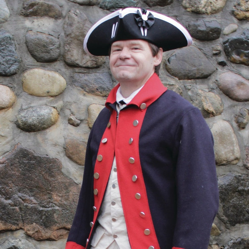 Mens Costume Rev War Coat - CC-193