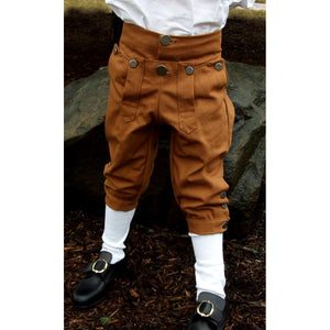 Boy's Knee Breeches - Colored Canvas   CP-228