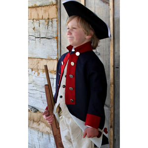 Boys' Costume Revolutionary War Coat  CRC-52