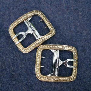 Men's Shoe Buckles Fancy Brass   CS-930