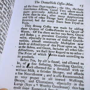The Domestick Coffee Man & The New Art of Brewing