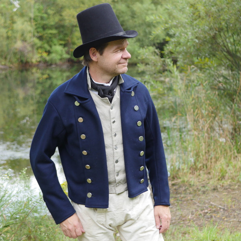 19th-Century Double-Breasted Sailor's Jacket
