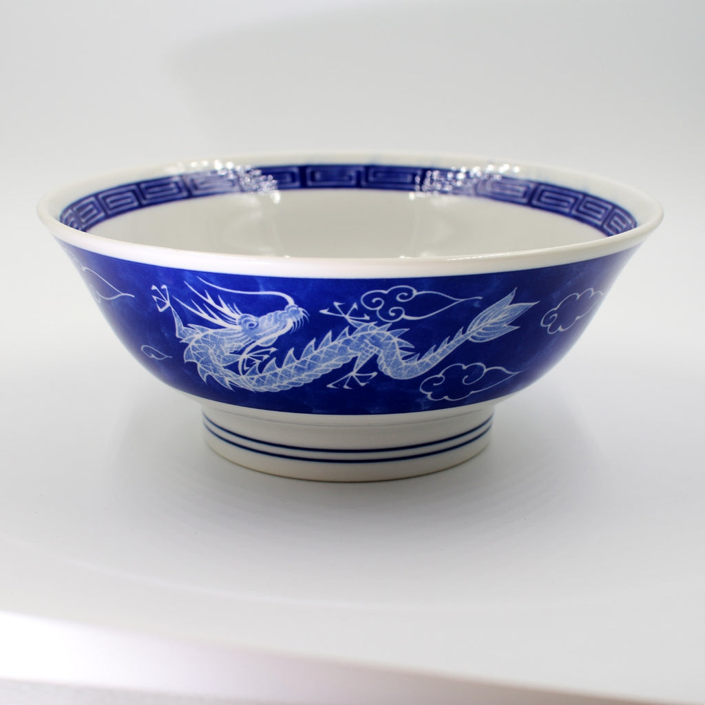 Dragon Porcelain Serving Bowl