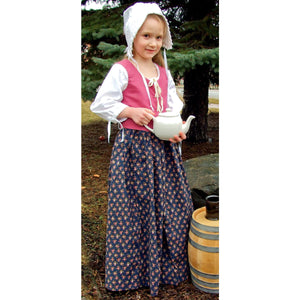 Girls' Printed Drawstring Skirt    FL-244
