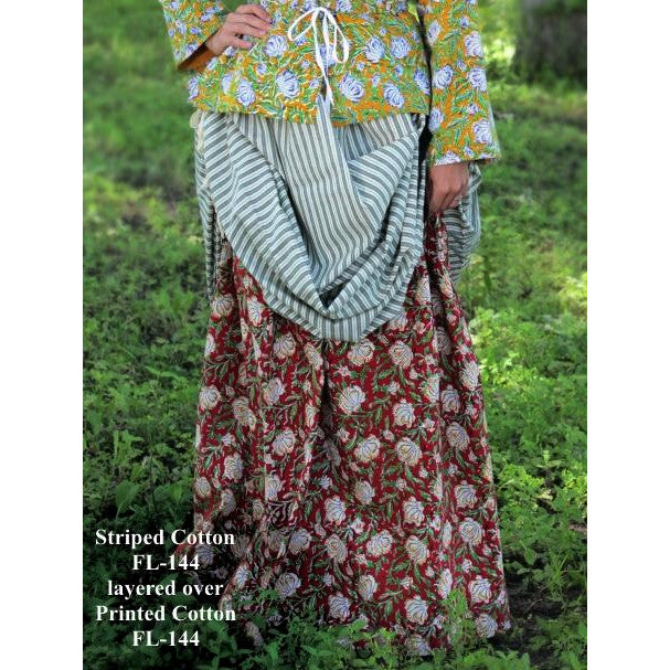 Drawstring Skirt - Printed