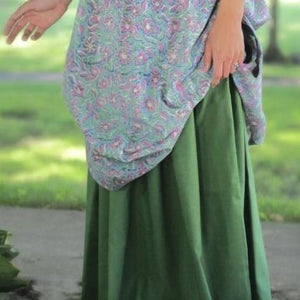 Drawstring Skirt - Plain