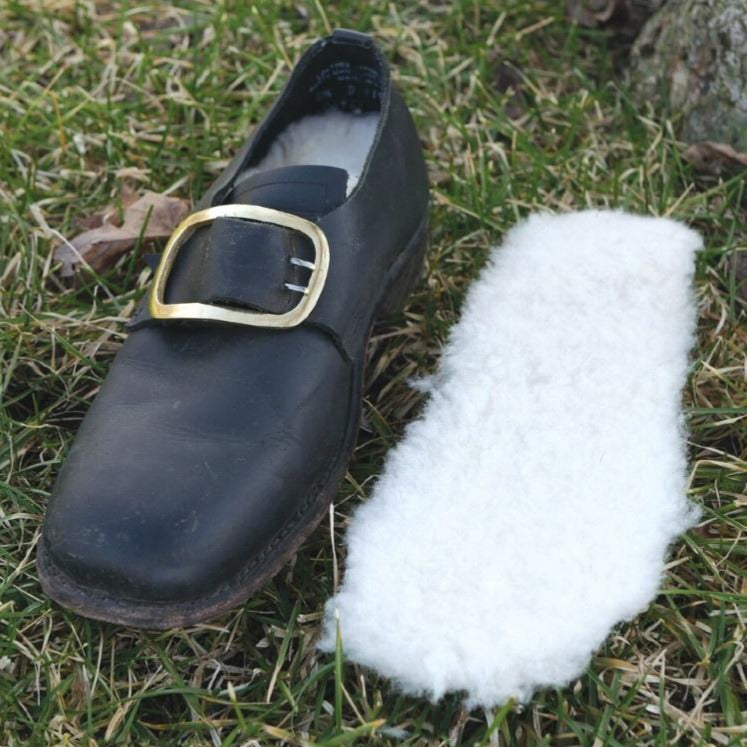 Natural Fleece Shoe Liners   FL-978