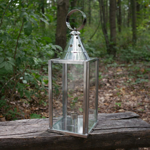 Glass-sided Lantern