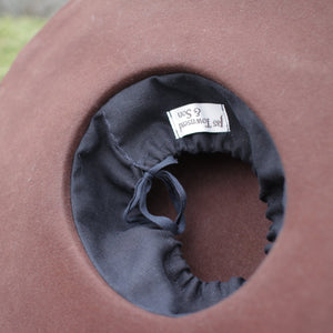 Fur Felt Hat Blank - Brown