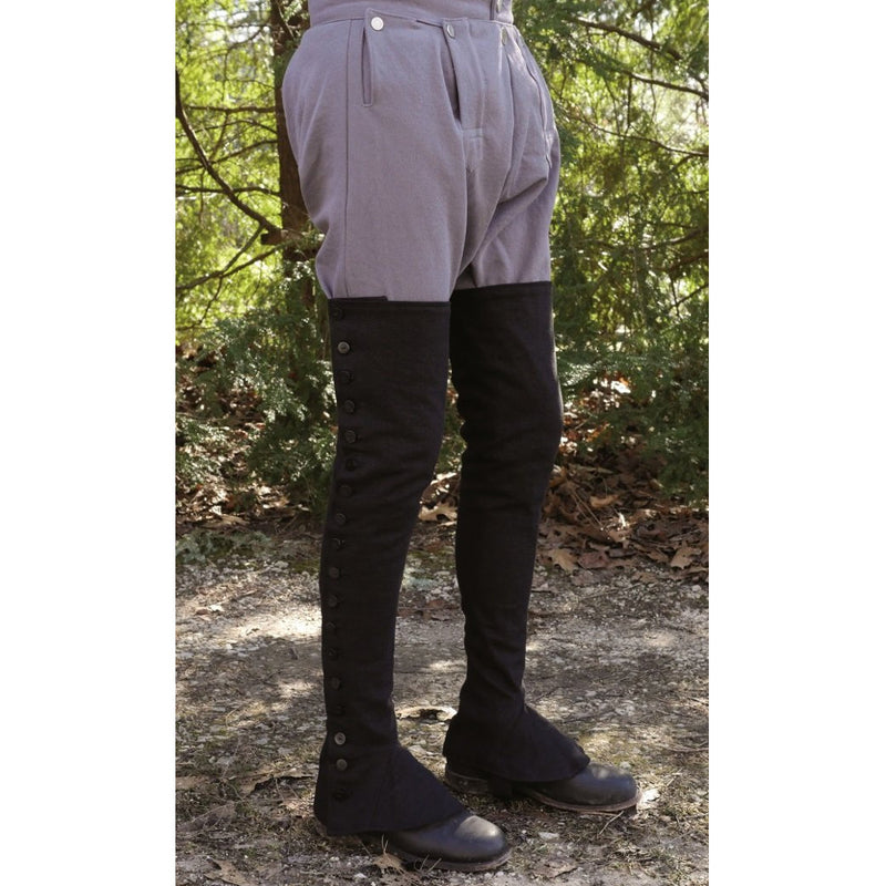 Extra-Long Gaiters Kit (Black)