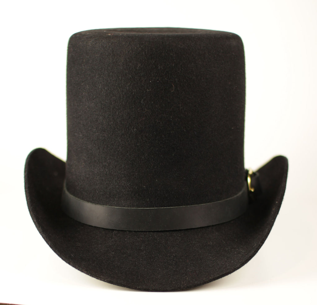 Early Fur-Felt Top Hat  H-2410