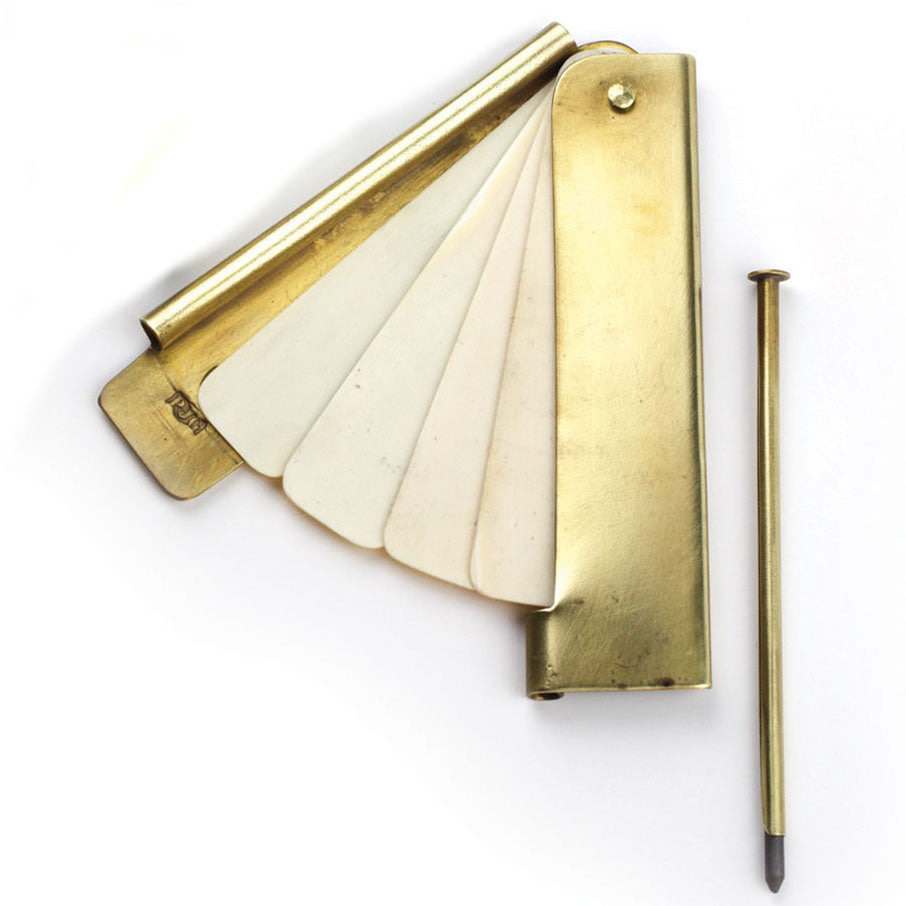 Large Brass Pocket Notebook