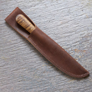 Leather Knife Sheath   LS-177