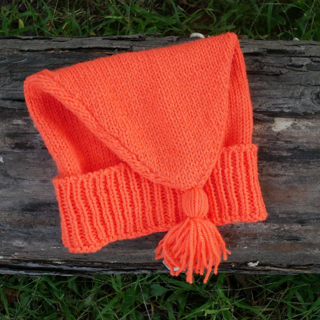 Blaze Orange Voyageur's hat  CA-122
