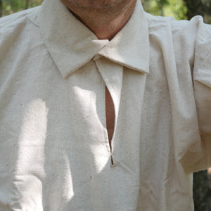 18th Century Workshirt - Osnaburg   OH-124