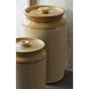 Lidded Crock 1/2 Gallon
