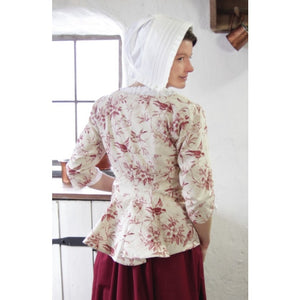 Ladies' Sleeved Bodice - Printed Cotton