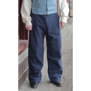 Men's 1820 Trousers in Color Canvas   PC-139