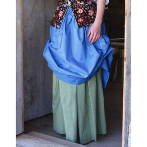 Drawstring Skirt - Plain   PC-144