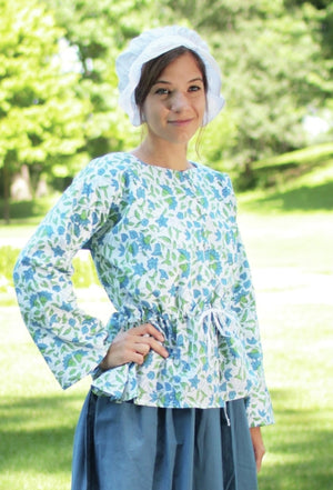 Printed Cotton Shortgown - PG-119